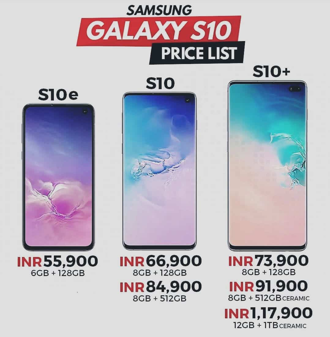 Samsung S10 Plus Full Specification
