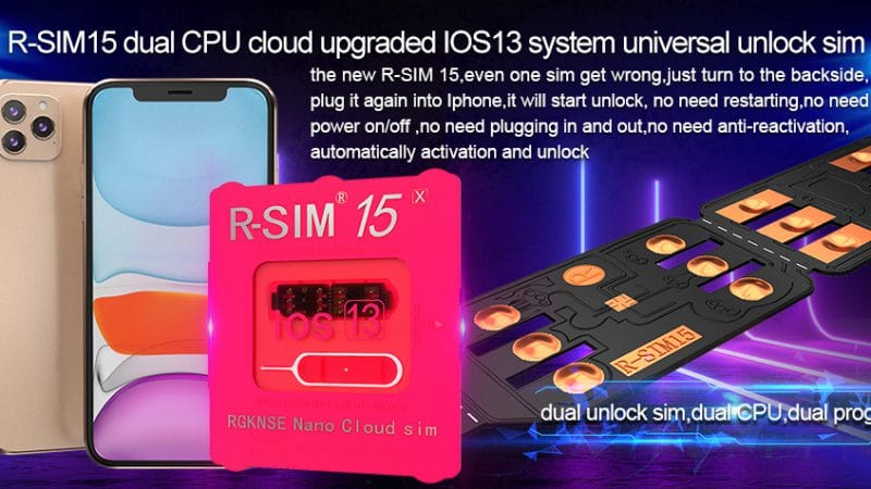 R-SIM 15 iPhone Unlocking Chip